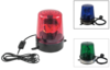 Police light in three different colours